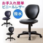 オフィスチェア ビニール レザー張り レザーチェア パソコンチェア 事務椅子 学習椅子 学習チェア 回転 ロッキング キャスター付 PCチェア デスクチェア