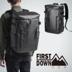 リュック メンズ リュックサック 大容量 簡易防水 撥水 バックパック 通勤 通学 スクエアリュック ファーストダウン 22L ビジネス バッグ