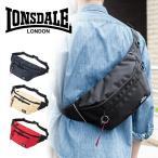 ウエストバッグ メンズ ボディバッグ ワンショルダーバッグ 斜めがけバッグ ワンショルダー 7ポケット ロンズデール
