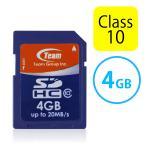 SDカード SDHCカード 4GB Class10