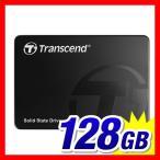 SSD 128GB 2.5インチ SATA 3 SSD Transcend社製 TS128GSSD340K トランセンド 3年保証