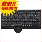 サンワサプライ USBキーボード トラックボール付 ブラック アウトレット わけあり 訳ありSKB-TR02BK
