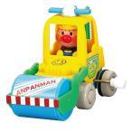 ショッピングアンパンマン アンパンマン キョロキョロ働くカー ローラー車(はたらくくるま ミニカー 工事現場)