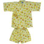 ショッピング甚平 メール便可・プーさん甚平男の子用130cmサイズ(子供用パジャマ)