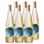 Yahoo!三洋堂 海外&国内土産・旅行用品[送料無料]タヒチお土産   タヒチパイナップルワイン やや甘口 6本セット【991060】