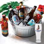 [5000円以上で送料無料][父の日] 南国ビール飲み比べ ヒナノビールグラス付 ポリネシアンビール5種セット【R85019】