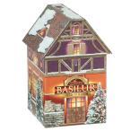 [5000円以上で送料無料][クリスマス] バシラーティー クリスマスハウス缶 紅茶 ティーバッグ(セイロンティー)【105810】
