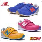 ニューバランス ローカット newbalance k620 キッズ ジュニア スニーカー ベルクロ シューズ 靴 ブルー ピンク イエロー br pk sa 13〜20cm