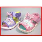 当日発送可能【SALE】オシュコシュ サンダル <キッズ シューズ>OSK B94 子供靴 ピンクとパープル【12.5〜14.5cm】
