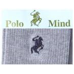 高袜 - POLO ポロマインド ソックス 靴下100足セット/グレー