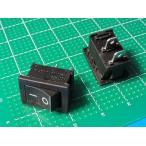 <ロッカースイッチ通販・販売>ロッカースイッチ車載用スイッチ 電源スイッチ<黒 ケースにつけるスイッチ>2個入<swp-029>