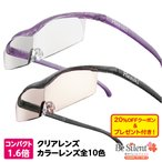 ハズキルーペ メガネ型ルーペ ハズキコンパクト 1.6倍 クリアレンズ 1.6倍 1年保証 プリヴェAG hazuki 拡大鏡 老眼鏡 虫眼鏡 クーポン