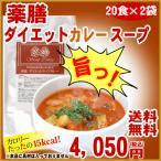 ショッピングダイエット ダイエットスープカレー(5g×20食×2袋)薬膳の力で置き換え<br>