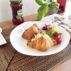 洋食器 アウトレットOUTLET強化 クリームペンネ プレート 三角皿 20.4cm クリーミーホワイト  カフェ