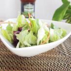 洋食器 サラダボール 三角小鉢 16.3cm ボウル おしゃれ 洋食器 アウトレット 強化 クリーミーホワイト