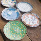 普段使い カラフルな古伊万里デサイン 5枚セット 銘々皿 食器セット 陶器 小皿 ※箱無し簡易梱包 丸皿 和食器 豆皿 薬味 しょうゆ小皿 漬物皿