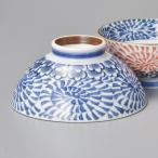 (業務用・茶碗)内外渦タコ唐草青茶碗(大)[45008-458](入数:1)