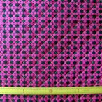 キルト両面撥水生地(R82-06641)  星柄/ピンク