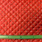 キルト両面撥水生地(FSG600) 小模様/レッド