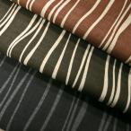 綿和調柄PTドビー織生地(AP01711-2)よろけ縞