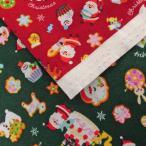 綿スケアプリント生地(AP15401-2)クリスマスケーキ柄   生地巾110cm  50cm(数量1)330円 国産(コスモテキスタイル)