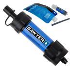 ショッピング携帯 携帯浄水器 SAWYER ソーヤー ミニ SP128 ブルー 世界のトップブランド