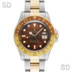 【アンティーク】 ロレックス メンズ GMTマスター (Ref:16753) ブラウン/ブラウンゴールドベゼル