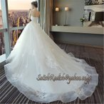 ウェディングドレス 結婚式 レディース 二次会ドレス 花嫁ドレス 大きいサイズ パーティー ロングドレス 演奏会 イブニングドレス カラー