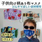 マスク 子供用 日本製 洗える 冷感 布 製 ひんやり 男の子 女の子
