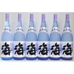 芋焼酎 海 1800mL 25度 6本セット 人気No.1のおすすめ焼酎