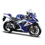 Yahoo!エクスプレスジャパンスズキ Suzuki GSX-R750 ブルー 1/12 ミニチュアバイク 初売り バーゲン