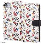 Yahoo!エクスプレスジャパンディズニー ミッキー 手帳型 レザーケース for iPhone8 7 6s 6 スマホケース AMK03 グッズ かわいい 初売り バーゲン