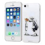 iPhone SE 5s 5 ワンピース TPUケース 背面パネル シャンクス ルフィ