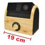 特別ご奉仕価格 ドックウッド 卓上木目調 扇風機 冷風機 小型サーキュレーター DW1125 NATURAL