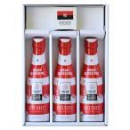 ラグビー日本代表デザイン SHUSHUギフトケース3本セット SHUSHU(シュシュ) 180ml×3本 オリジナルおちょこ付 ライセンス商品  送料無料