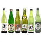 (お試し 飲み比) 日本酒セット 千葉地酒飲み比べ 500ml×6本セット(甲子、聖泉、腰古井、木戸泉、岩の井、東薫)