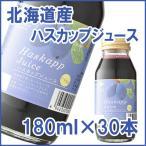 北海道産ハスカップジュース 180ml 30本(送料無料)(お歳暮のし対応可)
