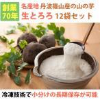 丹波篠山産 山の芋 生とろろ1箱 YS60(60g×12袋) 山芋/河南勇商店