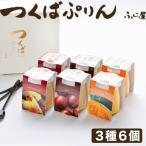 つくばぷりん 詰め合わせ ギフト 3種6個 焼き芋ぷりん 和栗ぷりん かぼちゃぷりん (各2個入り)  無添加 ふじ屋(のし対応可)