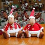 クリスマスおもちゃトナカイクリスマスツリー飾りクリスマスオーナメントハンドメイドかわいい装飾玄関掛け置物パーディープレゼントギフト