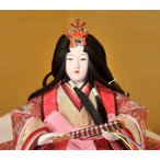 京都雛の会 雛人形 平飾り 親王飾り 平安光義作 京人形 京雛 賀茂雛 h243-tn-034121