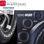 トーヨー 215/60R17 C 109/107R ホワイトレター H20 タイヤ4本 (t