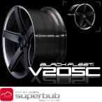 20インチ レイズ 245/45R20 ブラック フリート V205C (KM) 2085 サマー タイヤ ホイール セット