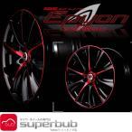 18インチ レイズ 225/40R18 ベルサス ブラック レーベル エピオン ロッソスピネッロ (KD) 1875 サマー タイヤ ホイール セット
