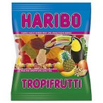 【訳あり】 賞味期限:2018年5月31日 ハリボー トロピカルフルーツ (100g) グミキャンディ
