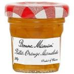 【訳あり 特価】 賞味期限:2019年1月31日 S&B ボンヌママン オレンジマーマレード 瓶 (30g) オレンジの爽やかな風味