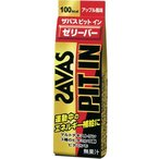 SAVAS ザバス ピットインゼリーバー アップル風味 (50g) 運動中のエネルギー補給に 【A】