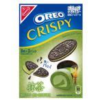 【訳あり 特価】 賞味期限:2021年2月28日 オレオ クリスピー 抹茶ロールケーキ (154g) クッキー