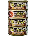 アイシア 黒缶 気まグルメ ササミ入りかつお (155g×4缶) キャットフード ウェット ゼリー 猫用 ペット 【J】