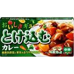 【ya】 エスビー食品 おいしさギューッととけ込むカレー 中辛 4皿分×2 (140g)